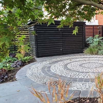 Circular Front Garden
